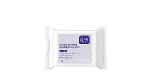 Clean & Clear Makeup Dissolving Facial Cleansing Wipes (25 ct) from CVS - SW Wanamaker Rd in Topeka, KS
