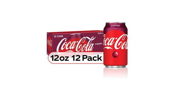 Coca Cola Cherry Can 12 Pack (12 oz) from CVS - SW Wanamaker Rd in Topeka, KS