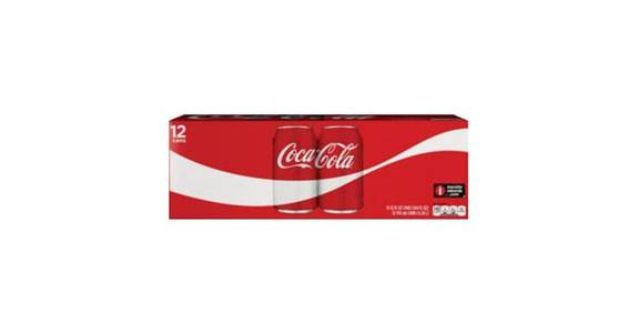 Coca Cola Classic Can 12 Pack (12 oz) from CVS - SW Wanamaker Rd in Topeka, KS