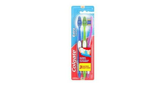 Colgate Extra Clean Full Head Toothbrush Soft Bristles (3 ct) from CVS - SW Wanamaker Rd in Topeka, KS