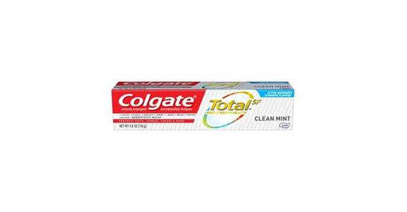 Colgate Total Toothpaste, Clean Mint (4.8 oz) from CVS - SW Wanamaker Rd in Topeka, KS