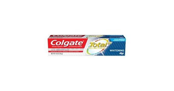 Colgate Total Whitening Toothpaste (4.8 oz) from CVS - SW Wanamaker Rd in Topeka, KS