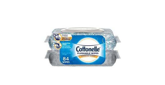 Cottonelle FreshCare Flushable Wet Wipes (84 ct) from CVS - SW Wanamaker Rd in Topeka, KS