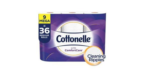 Cottonelle Ultra CleanCare Toilet Paper, Strong Bath Tissue, Septic-Safe (9 ct) from CVS - SW Wanamaker Rd in Topeka, KS
