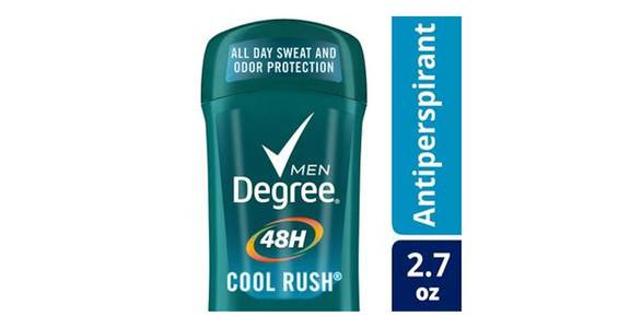 Degree Men Cool Rush 48 Hour Protection Antiperspirant Deodorant Stick (2.7 oz) from CVS - SW Wanamaker Rd in Topeka, KS