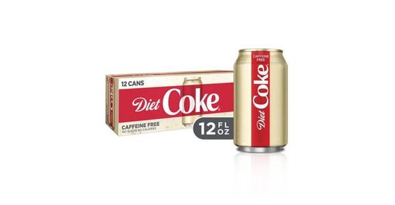 Diet Coke Caffeine-Free Can 12 Pack (12 oz) from CVS - SW Wanamaker Rd in Topeka, KS