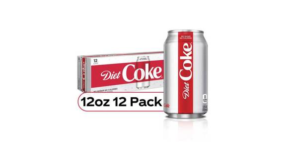 Diet Coke Can 12 Pack (12 oz) from CVS - SW Wanamaker Rd in Topeka, KS