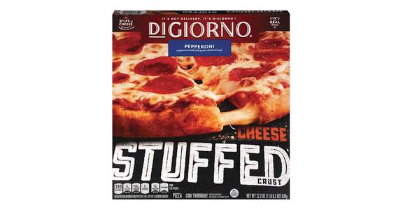 Digiorno Frozen Pizza Cheese-Stuffed Crust Pepperoni (22.2 oz) from CVS - SW Wanamaker Rd in Topeka, KS