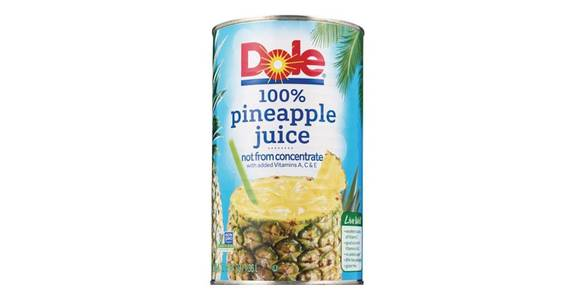 Dole Pineapple Juice 100% Not From Concentrate (46 oz) from CVS - SW Wanamaker Rd in Topeka, KS