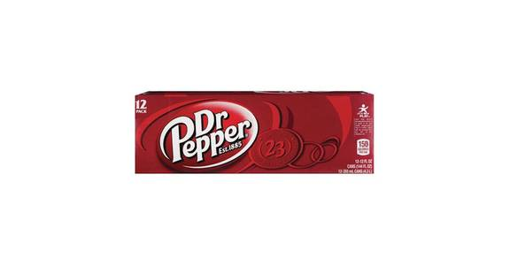 Dr. Pepper Soda 12 oz Cans (12 pk) from CVS - SW Wanamaker Rd in Topeka, KS