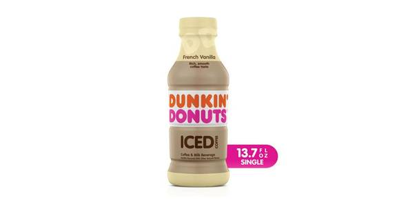 Dunkin Donuts French Vanilla Iced Coffee (13.7 oz) from CVS - SW Wanamaker Rd in Topeka, KS
