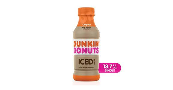Dunkin Donuts Original Iced Coffee (13.7 oz) from CVS - SW Wanamaker Rd in Topeka, KS