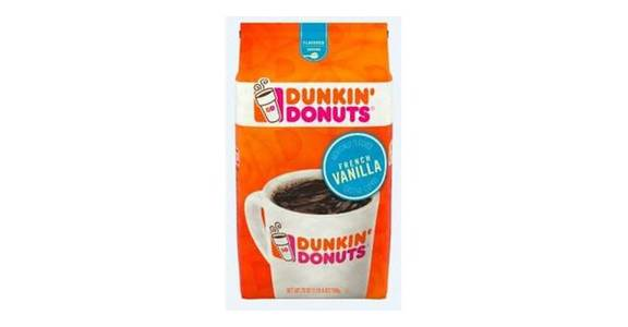 Dunkin' French Vanilla Ground Coffee (20 oz) from CVS - SW Wanamaker Rd in Topeka, KS