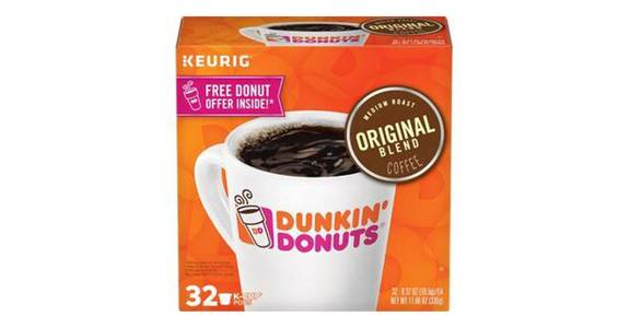 Dunkin' Original Blend Medium Roast Coffee K-Cups (32 ct) from CVS - SW Wanamaker Rd in Topeka, KS