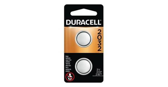Duracell Coin Button 2032 Battery (2 ct) from CVS - SW Wanamaker Rd in Topeka, KS