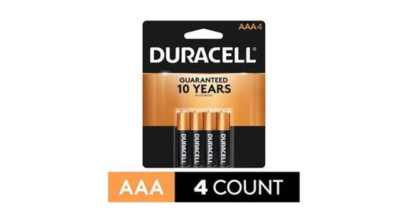 Duracell CopperTop AAA Alkaline Battery (4 ct) from CVS - SW Wanamaker Rd in Topeka, KS