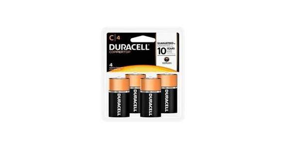 Duracell CopperTop C Alkaline Battery (4 ct) from CVS - SW Wanamaker Rd in Topeka, KS