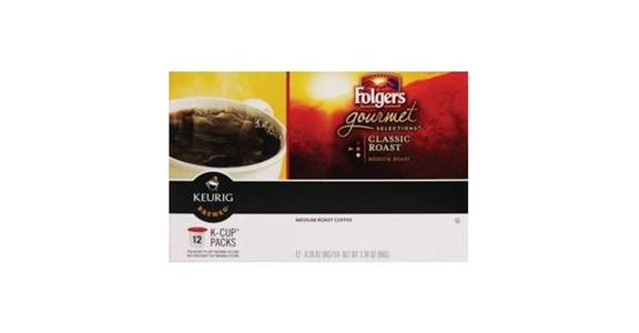Folgers Gourmet Selections Medium Roast K-Cup Pods (12 ea) from CVS - SW Wanamaker Rd in Topeka, KS