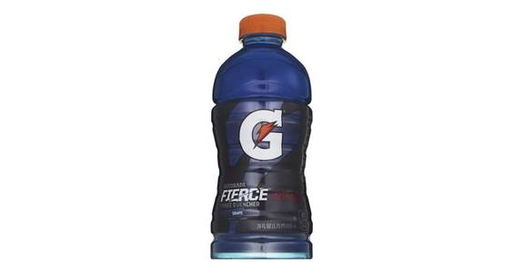 Gatorade Fierce Grape (28 oz) from CVS - SW Wanamaker Rd in Topeka, KS
