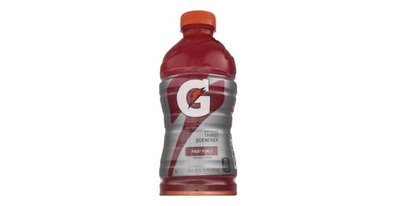 Gatorade Fruit Punch (28 oz) from CVS - SW Wanamaker Rd in Topeka, KS