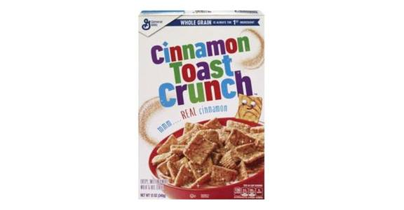General Mills Cinnamon Toast Crunch Cereal (12 oz) from CVS - SW Wanamaker Rd in Topeka, KS