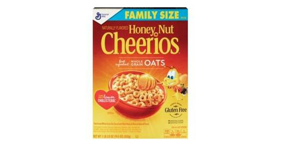 General Mills Honey Nut Cheerios Cereal Family Size (19.5 oz) from CVS - SW Wanamaker Rd in Topeka, KS