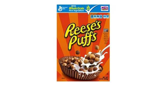 General Mills Reese's Puffs Cereal (13 oz) from CVS - SW Wanamaker Rd in Topeka, KS