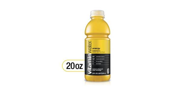 Glaceau vitaminwater Energy Tropical Citrus (20 oz) from CVS - SW Wanamaker Rd in Topeka, KS