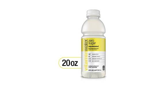 Glaceau vitaminwater Zero Lemonade (20 oz) from CVS - SW Wanamaker Rd in Topeka, KS
