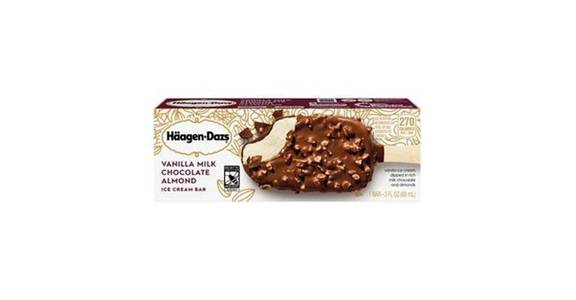 Haagan Dazs Vanilla Chocolate Bar (3 oz) from CVS - SW Wanamaker Rd in Topeka, KS