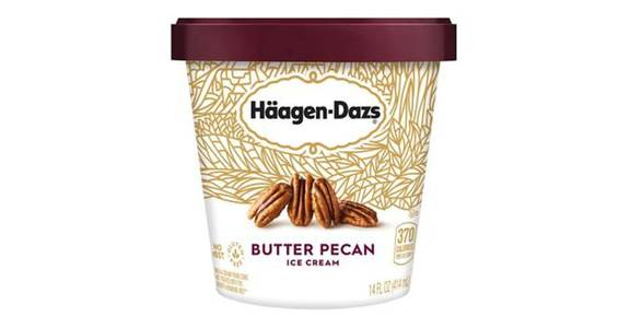 Haagen Dazs Butter Pecan Ice Cream (14 oz) from CVS - SW Wanamaker Rd in Topeka, KS