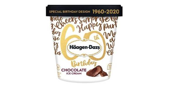 Haagen Dazs Choccolate Ice Cream (14 oz) from CVS - SW Wanamaker Rd in Topeka, KS