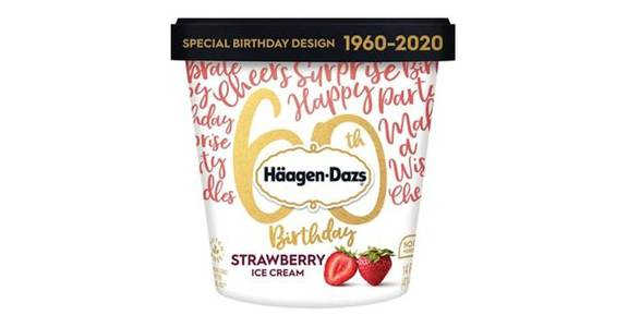 Haagen Dazs Strawberry Ice Cream (14 oz) from CVS - SW Wanamaker Rd in Topeka, KS
