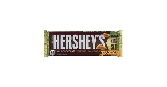 Hershey's Milk Chocolate With Almonds King Size (2.6 oz) from CVS - SW Wanamaker Rd in Topeka, KS