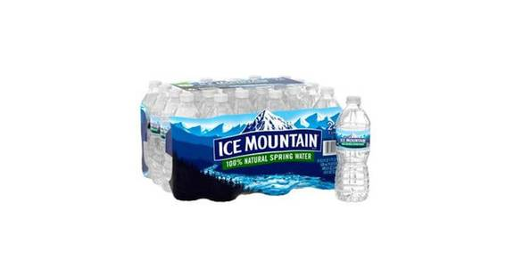 Ice Mountain 100% Natural Spring Water Plastic Bottle (16.9 oz) from CVS - SW Wanamaker Rd in Topeka, KS