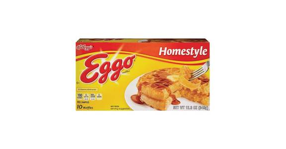 Kellogg's Eggo Frozen Waffles Homestyle 10 Count (1.23 oz) from CVS - SW Wanamaker Rd in Topeka, KS