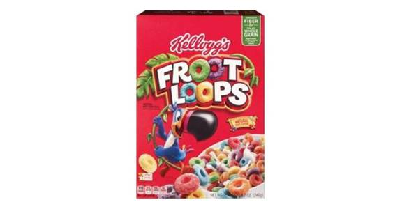 Kellogg's Froot Loops Cereal (8.7 oz) from CVS - SW Wanamaker Rd in Topeka, KS