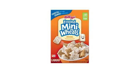 Kellogg's Frosted Mini-Wheats Cereal (18 oz) from CVS - SW Wanamaker Rd in Topeka, KS