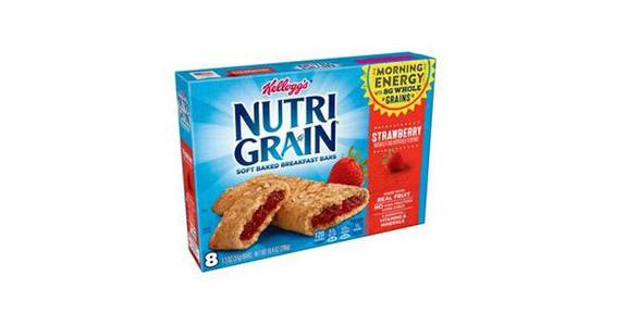 Kellogg's Nutri-Grain Cereal Bars Strawberry (10.4 oz) from CVS - SW Wanamaker Rd in Topeka, KS