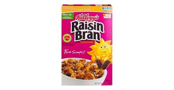 Kellogg's Raisin Bran Cereal (13.7 oz) from CVS - SW Wanamaker Rd in Topeka, KS