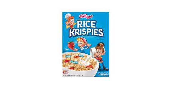 Kellogg's Rice Krispies Cereal (9 oz) from CVS - SW Wanamaker Rd in Topeka, KS