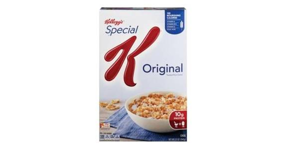 Kellogg's Special K Cereal (12 oz) from CVS - SW Wanamaker Rd in Topeka, KS