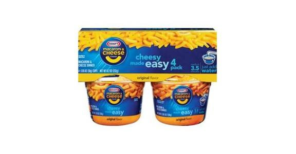 Kraft Easy Mac Original Microwavable Macaroni & Cheese Dinner (8.2 oz) from CVS - SW Wanamaker Rd in Topeka, KS