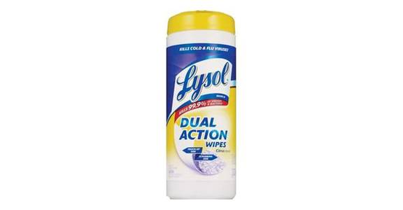 Lysol Dual Action Disinfecting Wipes Citrus (35 ct) from CVS - SW Wanamaker Rd in Topeka, KS