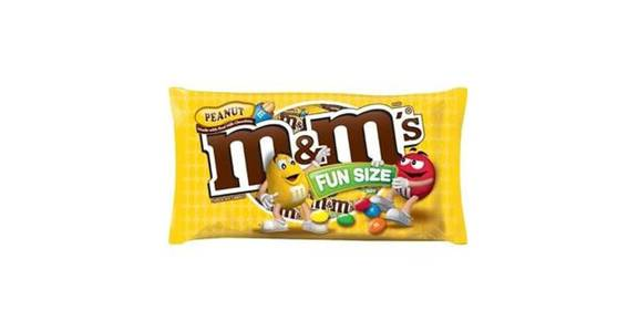 M&M's Fun Size Peanut Chocolate Candy (10.57 oz) from CVS - SW Wanamaker Rd in Topeka, KS