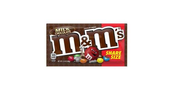 M&M's Milk Chocolate Candy Sharing Size (3.14 oz) from CVS - SW Wanamaker Rd in Topeka, KS