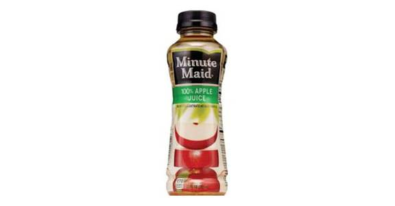 Minute Maid 100% Apple Juice Bottle (15.2 oz) from CVS - SW Wanamaker Rd in Topeka, KS