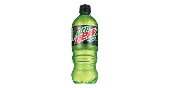 Mountain Dew Zero (20 oz) from CVS - SW Wanamaker Rd in Topeka, KS