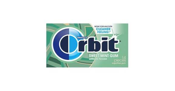 Orbit Sugar-Free Gum Sweet Mint (14 ct) from CVS - SW Wanamaker Rd in Topeka, KS