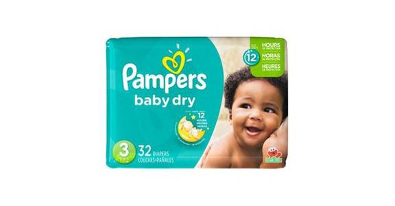 Pampers Baby Dry Diapers Size 3 (32 ct) from CVS - SW Wanamaker Rd in Topeka, KS